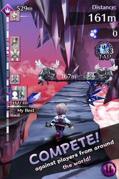 Screenshots vom Spiel Shadow Escape für iPhone, iPad oder iPod.