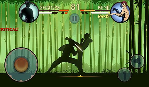 Écrans du jeu Shadow fight 2 pour iPhone, iPad ou iPod.
