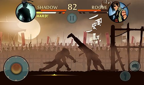 Геймплей Shadow fight 2 для Айпад.