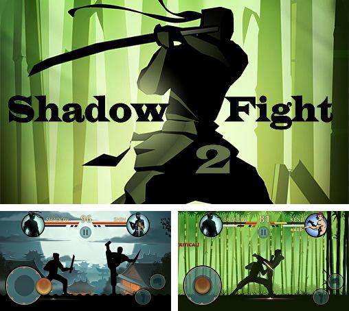 En plus du jeu Tennis de table 3D: Championnat virtuel pour iPhone, iPad ou iPod, vous pouvez aussi télécharger gratuitement La lutte contre l'ombre , Shadow fight 2.