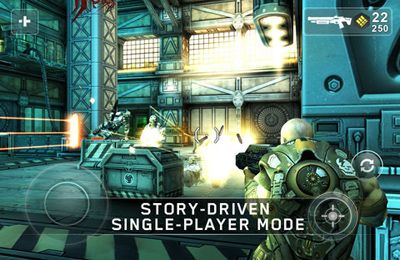 Descarga gratuita de Shadow Gun para iPhone, iPad y iPod.