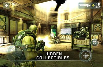 Capturas de pantalla del juego Shadow Gun para iPhone, iPad o iPod.