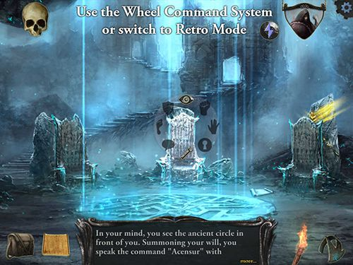 Screenshots of the Shadowgate game for iPhone, iPad or iPod.