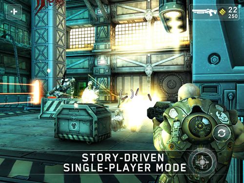 Download Shadowgun iPhone free game.