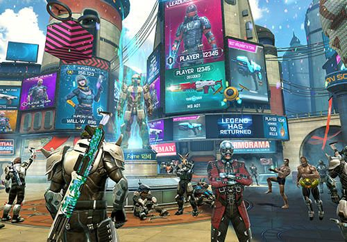 Download Shadowgun legends iPhone free game.