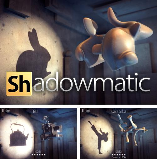 In addition to the game Cluck 'n' Load: Chicken & Egg Defense, Full Game for iPhone, iPad or iPod, you can also download Shadowmatic for free.