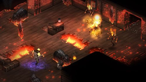 Screenshots of the Shadowrun: Dragonfall game for iPhone, iPad or iPod.