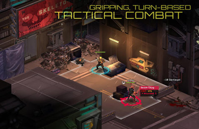 Screenshots of the Shadowrun Returns game for iPhone, iPad or iPod.