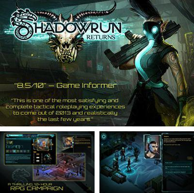 In addition to the game Flippy pancake for iPhone, iPad or iPod, you can also download Shadowrun Returns for free.