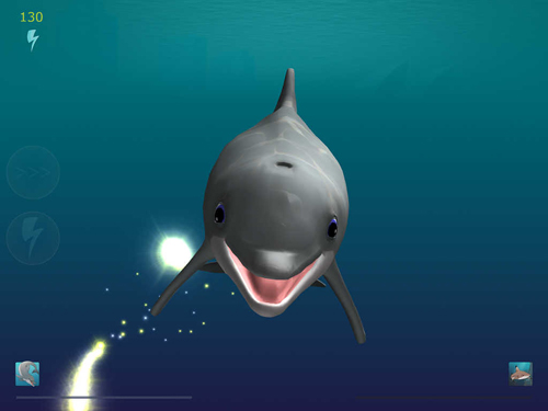 Screenshots of the Shark eaters: Rise of the dolphins game for iPhone, iPad or iPod.