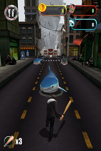 Download Sharknado: The video game iPhone free game.