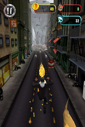 Capturas de pantalla del juego Sharknado: The video game para iPhone, iPad o iPod.
