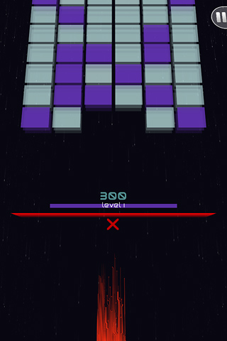Screenshots of the Shatter alley game for iPhone, iPad or iPod.