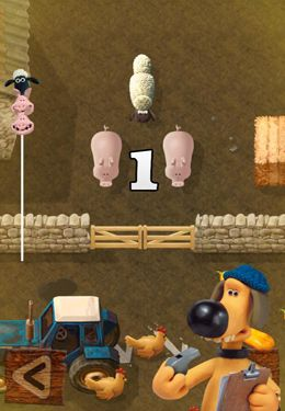 Kostenloser Download von Shaun the Sheep - Fleece Lightning für iPhone, iPad und iPod.