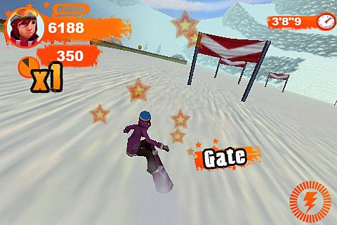 Screenshots of the Shaun White snowboarding: Origins game for iPhone, iPad or iPod.