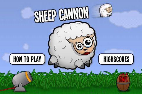 Sheep cannon: Have a blast!