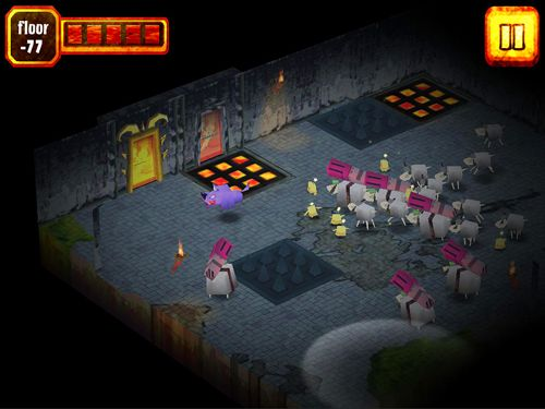 Free Sheep in hell download for iPhone, iPad and iPod.