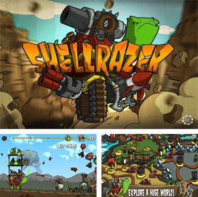 In addition to the game Pinball planet for iPhone, iPad or iPod, you can also download Shellrazer for free.