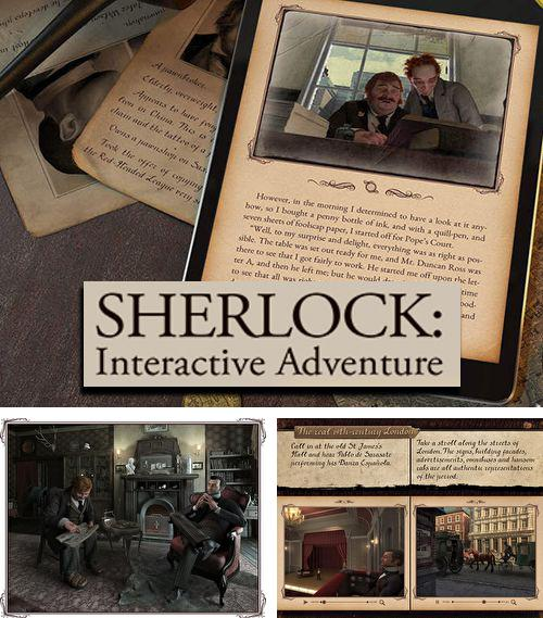 除了 iPhone、iPad 或 iPod 极限卡车游戏,您还可以免费下载Sherlock: Interactive adventure, 。
