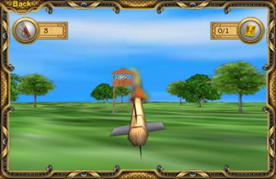 Écrans du jeu Sherwood Forest Archery HD pour iPhone, iPad ou iPod.