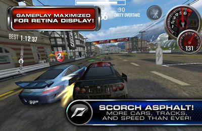 Écrans du jeu Need for Speed SHIFT 2 Unleashed (World) pour iPhone, iPad ou iPod.