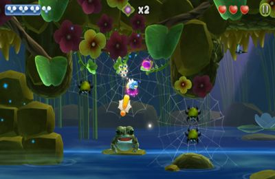 Capturas de pantalla del juego Shiny The Firefly para iPhone, iPad o iPod.