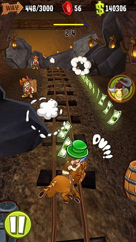 Игра Shoot and run: Western для iPhone