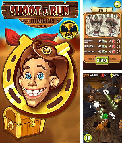 In addition to the game Doodle Monster for iPhone, iPad or iPod, you can also download Shoot and run: Western for free.