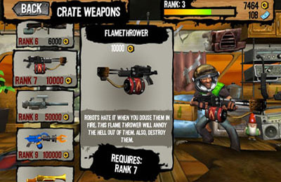 Download Shoot Many Robots iPhone free game.