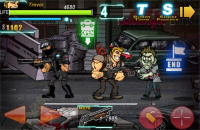 Screenshots vom Spiel Shoot Many Zombies! für iPhone, iPad oder iPod.