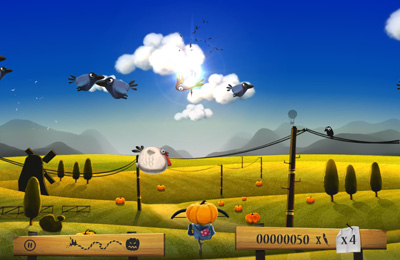 Capturas de pantalla del juego Shoot The Birds para iPhone, iPad o iPod.