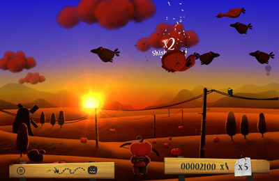 Screenshots vom Spiel Shoot The Birds für iPhone, iPad oder iPod.