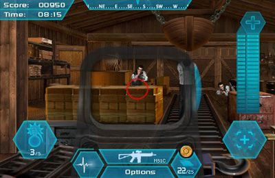 Screenshots of the SHOOTER: THE OFFICIAL MOVIE GAME game for iPhone, iPad or iPod.
