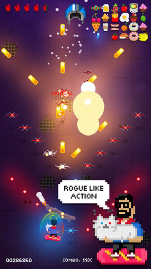 Screenshots of the Shooting stars game for iPhone, iPad or iPod.