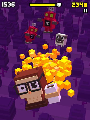 Capturas de pantalla del juego Shooty skies para iPhone, iPad o iPod.