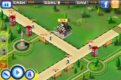 Screenshots of the Vacation Mogul game for iPhone, iPad or iPod.