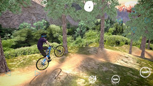 Descarga gratuita de Shred! Extreme mountain biking para iPhone, iPad y iPod.