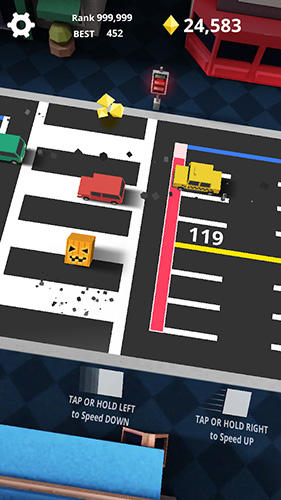 Скачать Shuttle run: Cross the street на iPhone бесплатно