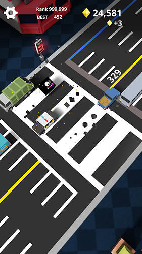 Скачать игру Shuttle run: Cross the street для iPad.
