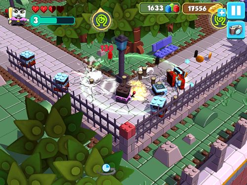 Screenshots do jogo Sick bricks para iPhone, iPad ou iPod.