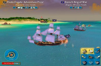 Игра Sid Meier's Pirates для iPhone