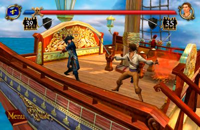 Capturas de pantalla del juego Sid Meier's Pirates para iPhone, iPad o iPod.