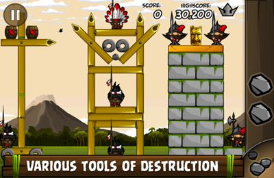 Screenshots of the Siege Hero game for iPhone, iPad or iPod.