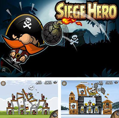 In addition to the game Su mon smash: Star coliseum for iPhone, iPad or iPod, you can also download Siege Hero for free.