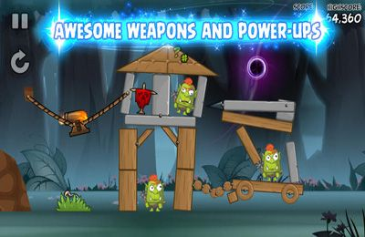 Capturas de pantalla del juego Siege Hero Wizards para iPhone, iPad o iPod.