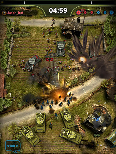 Screenshots vom Spiel Siege: World war 2 für iPhone, iPad oder iPod.