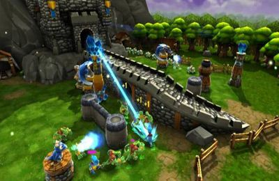 Screenshots of the Siegecraft TD game for iPhone, iPad or iPod.