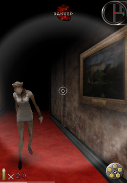 Écrans du jeu Silent Hill The Escape pour iPhone, iPad ou iPod.