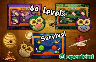 Download Silly Owls iPhone free game.