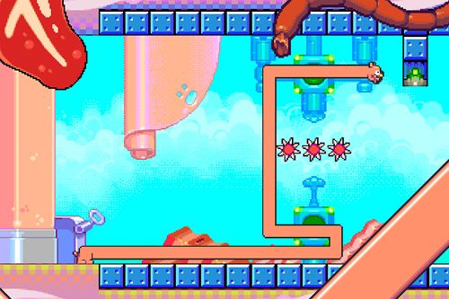 Download Silly sausage in meat land iPhone free game.